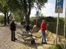 Arbeiten am Banhausweg 2014