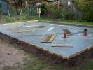 Schachtarbeiten Bodenplatte
